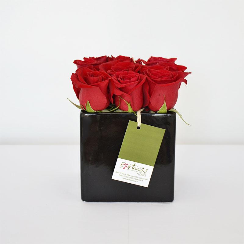 Arreglo Floral Rosas Rojas