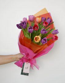 Ramo tulipanes colores1