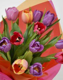 Ramo tulipanes colores2
